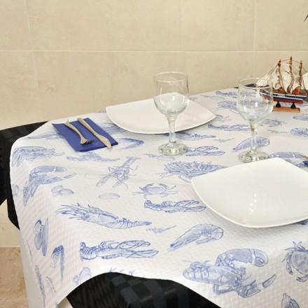 Mantel de Papel Marisco 100x100 cm (400 Uds)