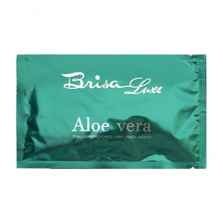 Toallita húmeda perfumada con aroma a Aloe Vera (caja 200 uds)