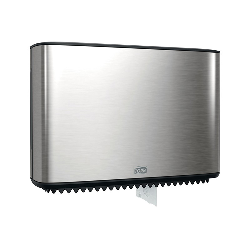 Dispensador para higiénico Mini Jumbo acero inoxidable