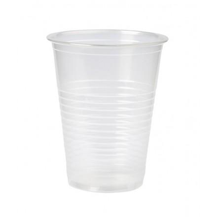 Vaso de Plástico Transparente 200 cc (100 Uds)