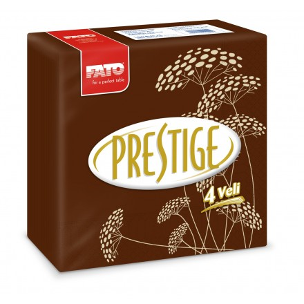 Servilleta de Papel 40x40 cm Prestige Thai Chocolate (50 uds.)