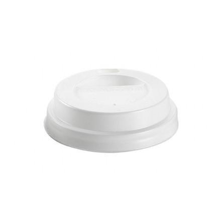 Tapa con agujero para vaso 125 cc (100 Uds)