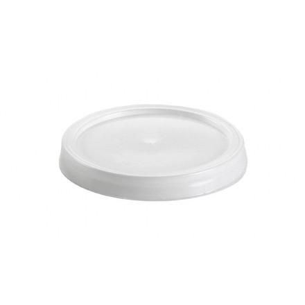 Tapa plana para vaso 125 cc (100 ud.)