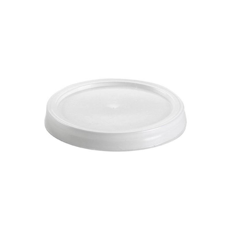 Tapa plana para vaso 125 ml.