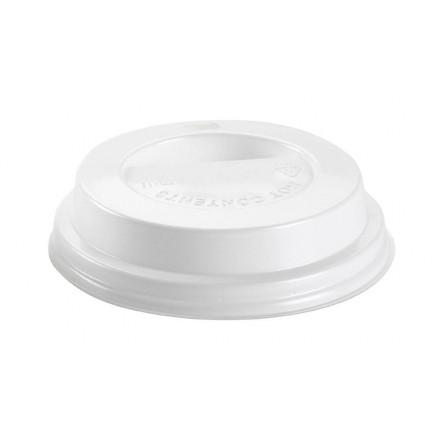 Tapa con agujero para vaso 280 cc (100 Uds)