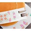 Mantel Individual 30x40-Happy Flowers
