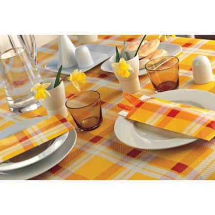 Sobres para Cubiertos Escoces Amarillo (1.000 uds.)