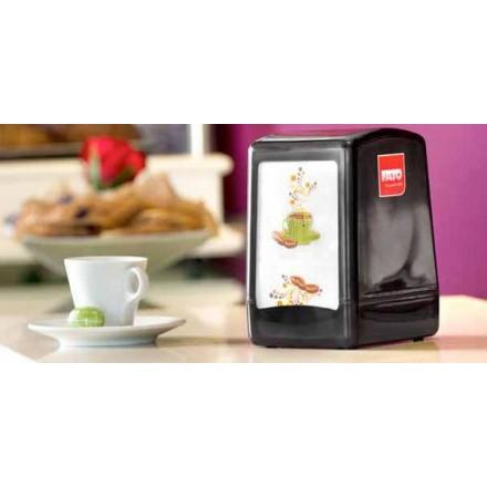 Servilletas de Papel 17x17 Mini-Servis Café