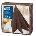 Servilleta de Papel 39x39 Tork LinStyle Chocolate (50 uds)