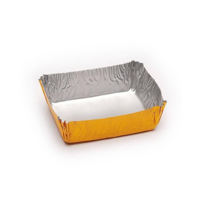 Cápsula rectangular pastelería 45x35x15 mm