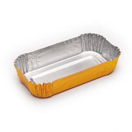 Cápsula rectangular pastelería 490x45x20 mm