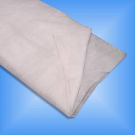 Sábana desechable blanca 85x140 cm (100 uds.)