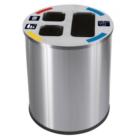 Cubo triselectivo 40 y 60 litros