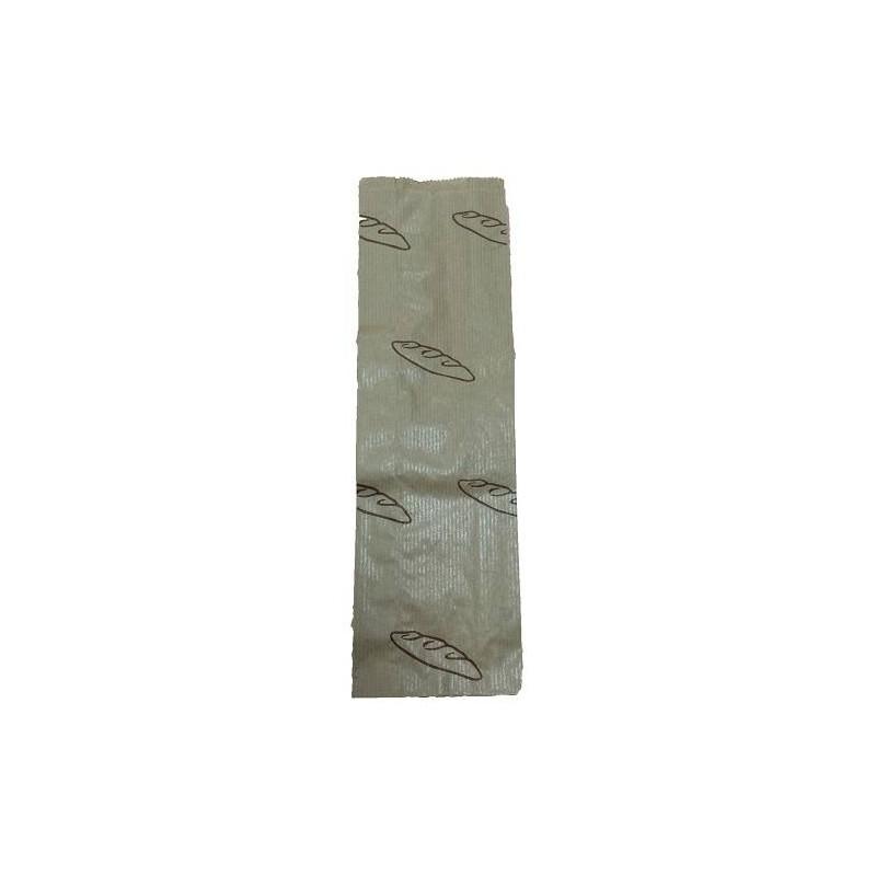 Bolsa papel kraft baguette