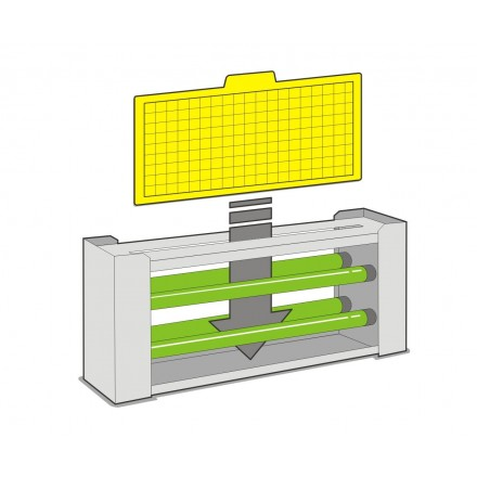 Láminas adhesivas Trap-8 Linea E_Inox Dual y Mural