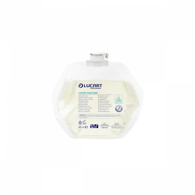Jabón en espuma Luxury Lucart