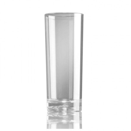 Vaso tubo policarbonato 330 cc (36 Uds)