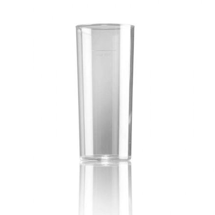 Vaso de tubo policarbonato 330 ml (48 Uds)
