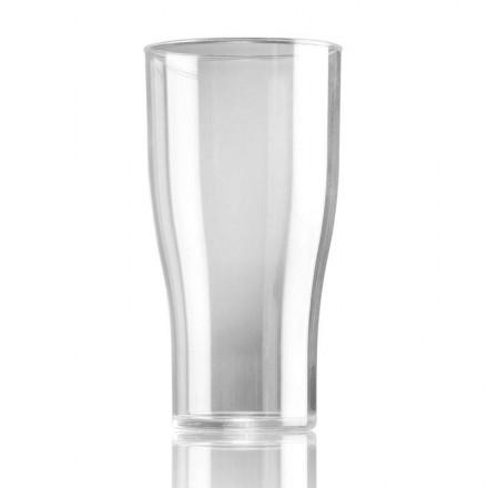 Vaso pinta cerveza policarbonato 570 ml (48 Uds)