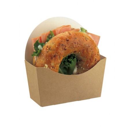 Envase Bagel de cartón reciclable (1000 Uds)