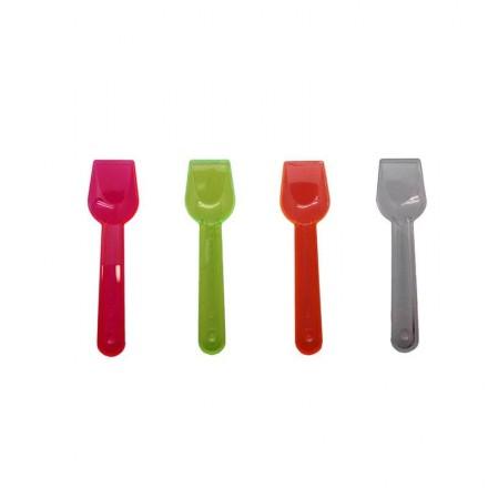 Cucharilla helado colores (1000 Uds)