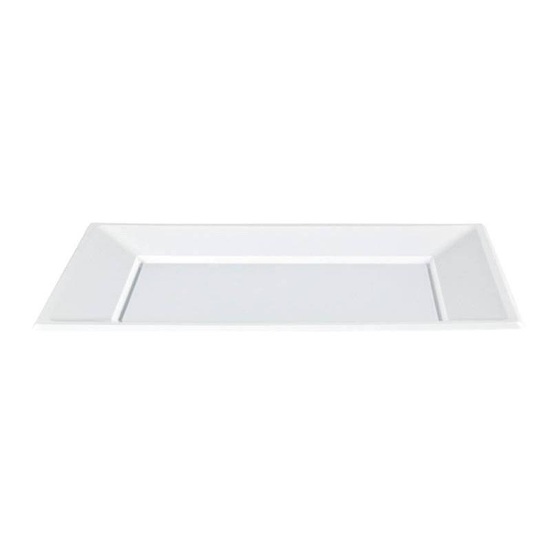 Bandeja Blanca 32x22 cm.