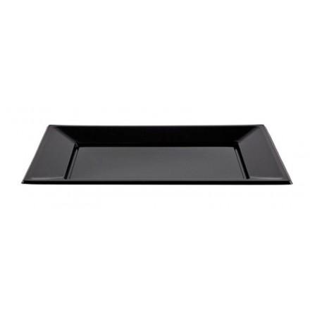 Bandeja Negra 32x22 cm (25 Uds)