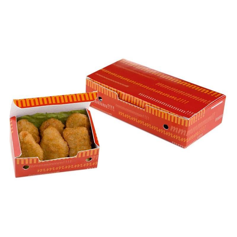 Caja para Fritos Grande Rojo