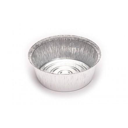 Envase Aluminio Redondo Grande
