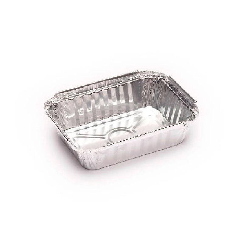 Envases de Aluminio Rectangular 360 c.c