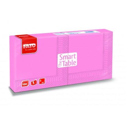 Servilleta Smart Table 25x25 rosa