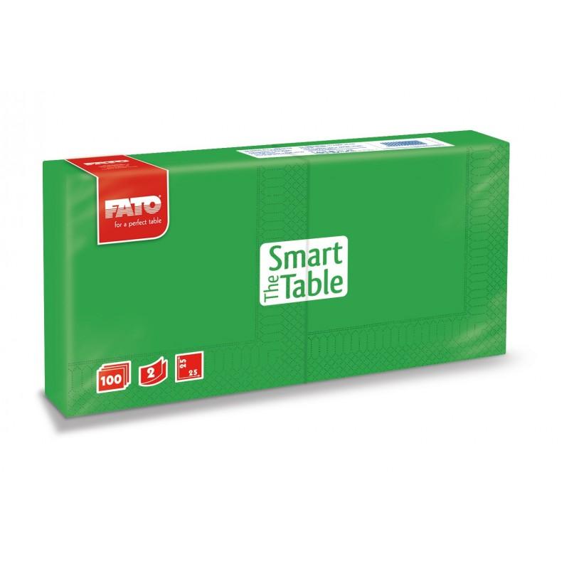 Servilleta Smart Table 25x25 verde esmeralda