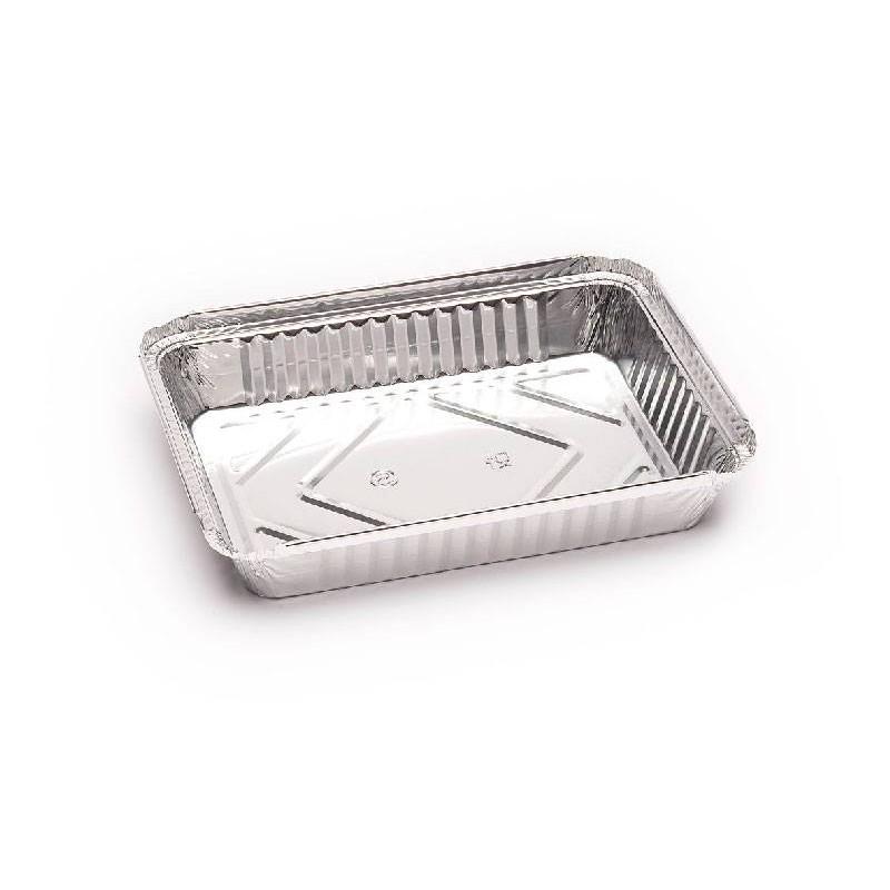 Envases de Aluminio Rectangular 1.000 cc.