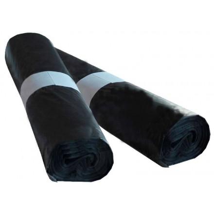 Bolsa de basura negra 52x60 cm (25 Uds)