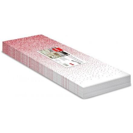 Mantel 100x100 Puntini Rojo