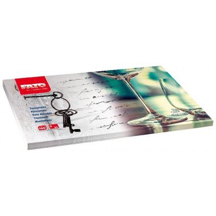 Mantel Individual 35x50 cm Keys (100 Uds)