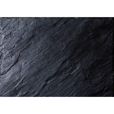 Mantel Individual 30x40 cm PP Black Nature (12 Uds)