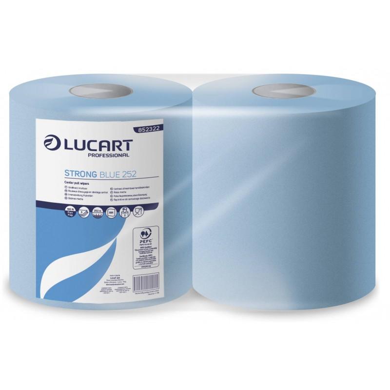Bobina Industrial Strong Lucart Blue 252