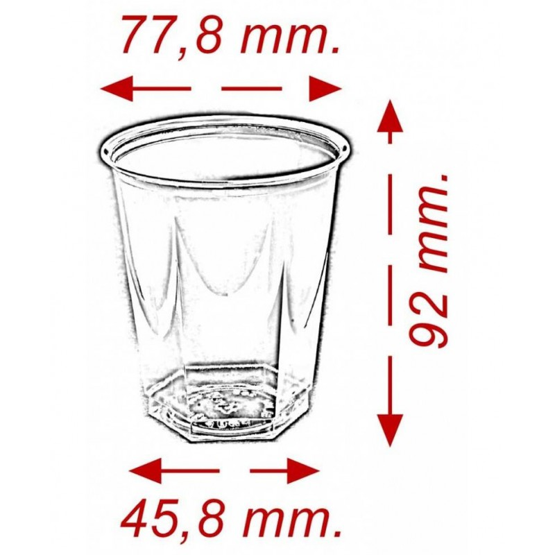 Vaso Glass 250cc