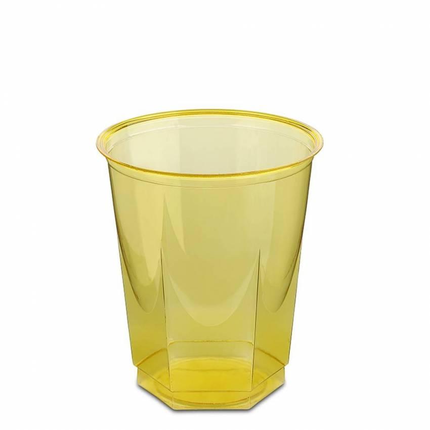 Vaso de pl stico de color cristal glass 250 cc 10 uds - Vasos de colores ...