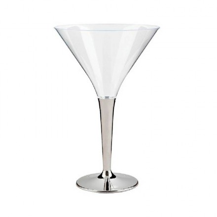 Copa Cocktail con pie plata 100 cc (6 Uds)