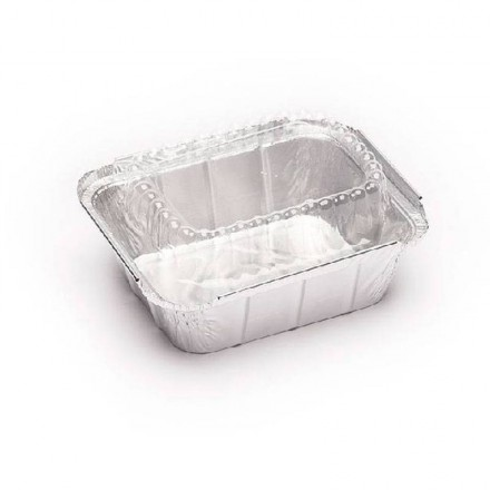 Tapa de Plástico para Envase de Aluminio Rectangular de 475 cc.