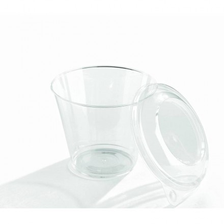 Vaso transparente 230 cc (25 Uds)