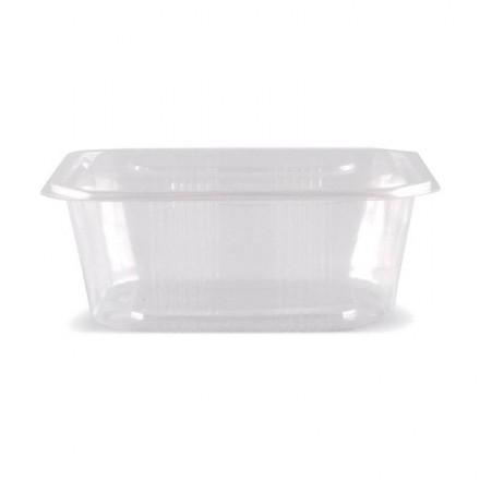 Envase microondas con tapa 2000 cc (50 Uds)