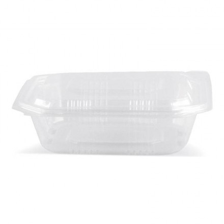 Envase microondas con tapa 750 cc (50 Uds)