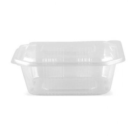 Envase microondas con tapa 1000 cc (50 Uds)