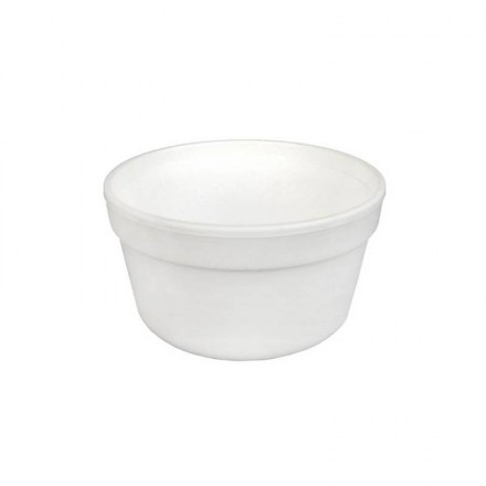 Bowl de foam 350 ml (25 uds)