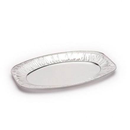Bandeja de Aluminio Ovalada Mediana