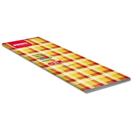 Mantel 100x100 cm Escoces Amarillo (50 Uds)