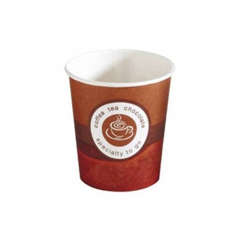 "Vaso de cartón ""coffe to go"" 125 ml."
